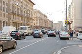 Tverskaya street in Moscow in summer — Foto de Stock