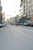 Novoslobodskaya Street in Moscow, Russia — Stock Photo