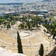 City and Theatre of Dionysus, Athens — Stock Photo #50349203