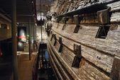 Interior of Vasa museum in Stockholm, Sweden — Stock Photo