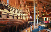Main hall of Vasa museum in Stockholm, Sweden — Stock Photo