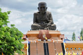 Monk Luang Pu Thuad Statue in Thailand — Stock Photo