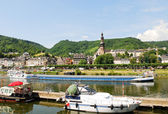 Town Cochem on Moselle river in Germany — Stock Photo