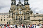 The Cathedral of Santiago de Compostela — Stock Photo
