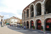 Verona Opera Arena - amphitheatre in Verona, Italy — Stock Photo