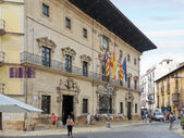 Town Hall of city Palma de Mallorca — Foto Stock