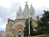 Ekspiacyjne kościół najświętszego serca pana jezusa — Zdjęcie stockowe