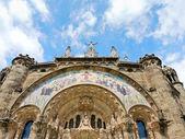 Expiatory kilisesi i̇sa'nın kutsal yürek, — Stok fotoğraf