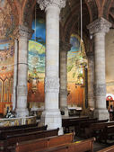 Expiatory kilisesi i̇sa'nın kutsal yürek — Stok fotoğraf