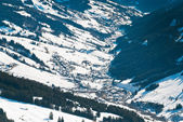 Glemmtal valley in Saalbach Hinterglemm region — Stockfoto
