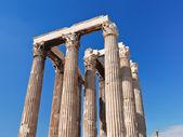 Pelargången av tempel av olympiska zeus, aten — Stockfoto