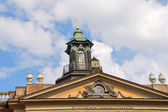 Roof of Swedish Academy in Stockholm — Стоковое фото