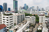 View of modern residential district in Bangkok — Stockfoto