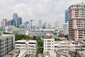 Modern residential district in Bangkok city — Foto de Stock