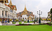 Grand Palace court in Bangkok, Thailand — Stock Photo