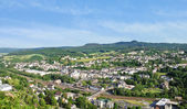 Town Gerolstein, Germany in summer day — Stock Photo