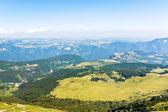 Above view of Monte Baldo mountains, Italy — Stock Photo