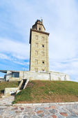 Ancient roman lighthouse Tower of Hercules, Spain — Stock Photo