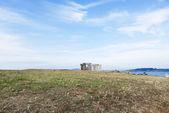 Giardino di pietra vicino a torre di ercole, spagna — Foto Stock