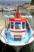красочная лодка — Стоковое фото