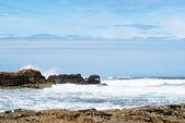 View of Atlantic ocean in Costa da Morte, Spain — Stock Photo