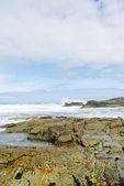 Shore of Atlantic ocean in Costa da Morte, Spain — Stock Photo