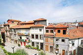 View of small street in Porto city — Stock Photo