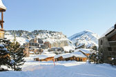 Cityscape of Avoriaz town in Alp, France — Stock Photo