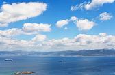 Pontevedra coast from Atlantic Ocean — Stockfoto
