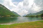 View of Lake Idro, Italy — Foto Stock