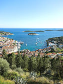 Hvar island in Adriatic Sea, Croatia — Stock Photo