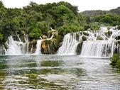 Waterfall in Kornati region, Dalmatia, — Stock Photo