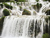 Cascade of waterfall in Kornati region, Dalmatia — Stock Photo