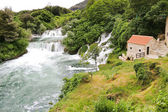 View of waterfalls in Kornati region, Croatia — Stock Photo