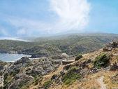 Vista del parque natural cap de creus, españa — Foto de Stock
