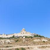 Citadella old fortified city on Gozo island, Malta — Stock Photo