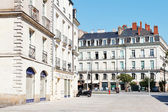 Square Place du Bouffay in Nantes, France — Stock Photo