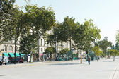 Street Cours Franklin Roosevelt in Nantes, France — Stock Photo