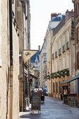 Rue de la Juiverie street in Nantes, France — Stock Photo