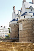 Castle of the Dukes of Brittany in Nantes, France — Stock Photo