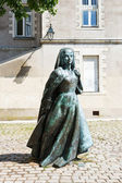 Sculpture Anne of Brittany in Nantes, France — Stock Photo