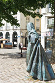 Statue Anne of Brittany in Nantes, France — Stock Photo