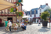 Place Donatien Lepre, Le Croisic town, France — Stock Photo