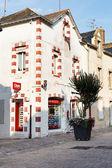 Street Rue de Salorges in Le Croisic town, France — Stock Photo