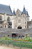 Inner yard of Angers Castle, France — Stock Photo