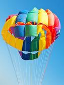 Canopy of parachute for parakiting — Foto de Stock