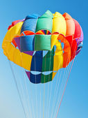 Canopy of parachute for parakiting — Foto de Stock