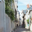 Medieval narrow street in Angers, France — Stock Photo #51533915