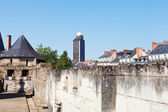 View of Brittany Tower from Castle in Nantes — Stock Photo
