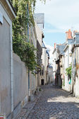 Medieval narrow street in Angers, France — Foto de Stock